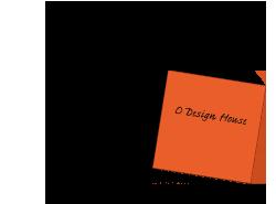 Orange Sticky Notes